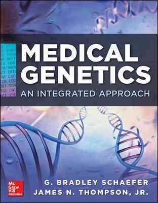 Medical Genetics By Schaefer, G. Bradley/ Thompson, James N., Jr.